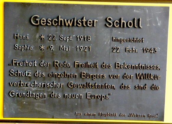 Scholl-Tafel